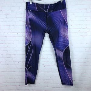 Fabletics Solar Printed Powerhold Leggings